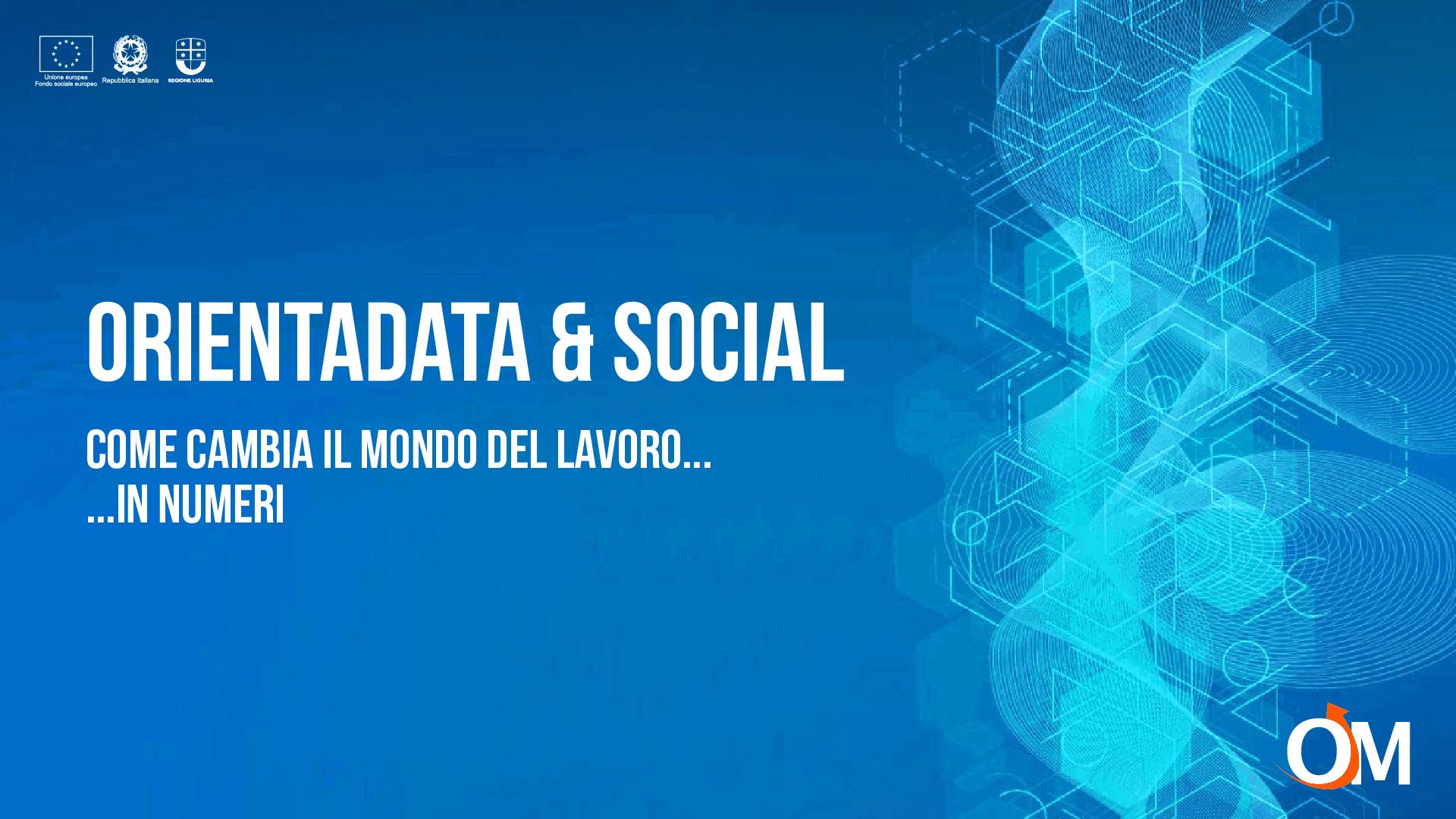 I dati al servizio dell'orientamento - OrientaData & Social